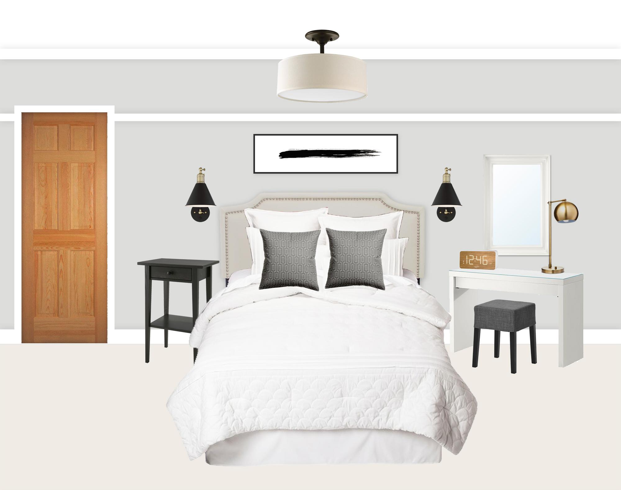 Master bedroom design board