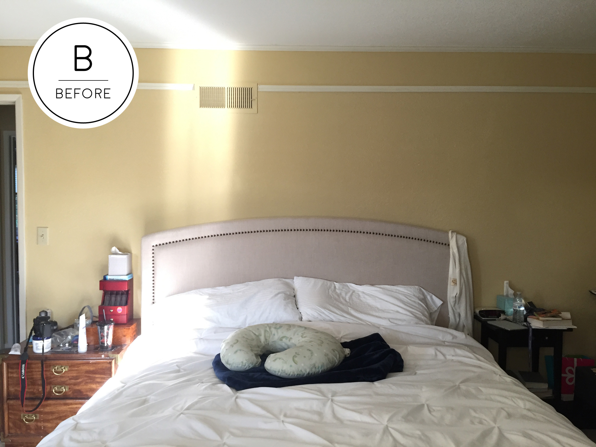 Before and After: $300 Master Bedroom Makeover | BAY ON A BUDGET
