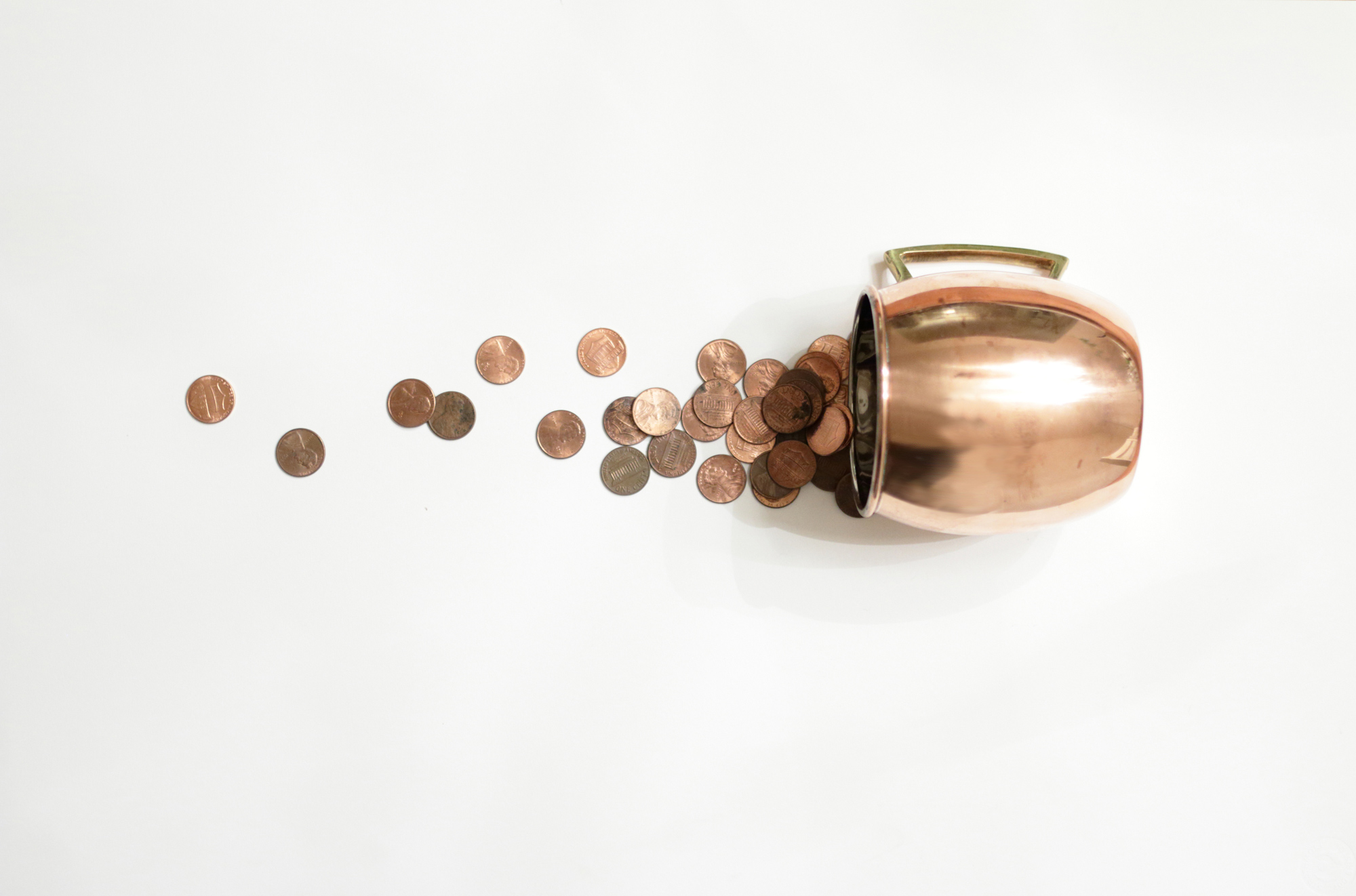 Thrifty header image copper cup
